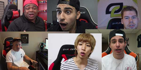 youtuberとゲーミングチェア