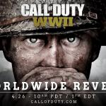 2017年のCoD最新作はCoD:WW2で11月3日発売。第二次世界大戦もの