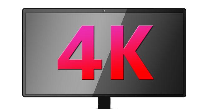 おすすめ4K高解像度モニター・ディスプレイ・TV