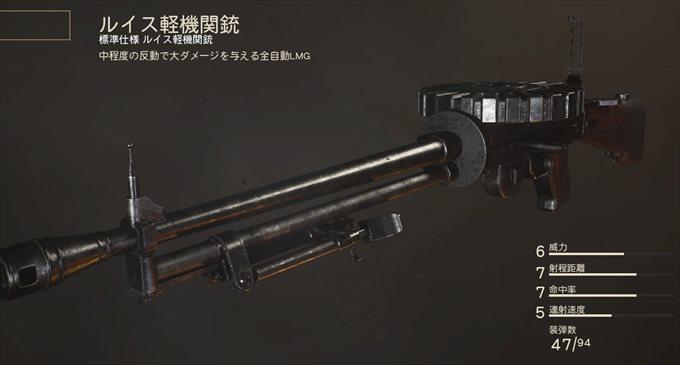 ルイス軽機関銃