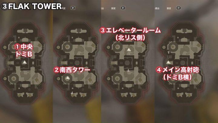 flak towerフラックタワー