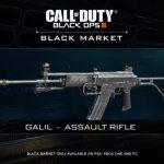 CoD:BO3に新武器Galilとバリスティックナイフが登場ほか