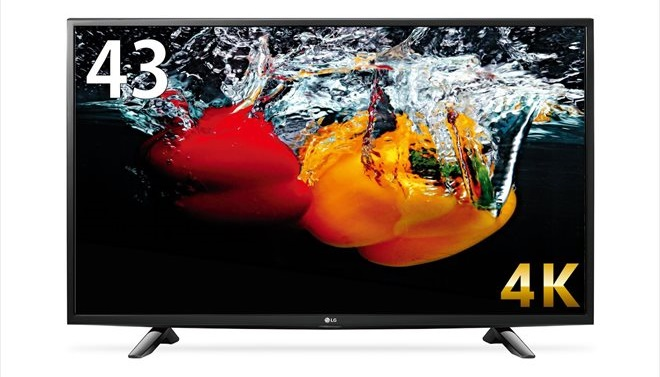 LG43インチ4kテレビ