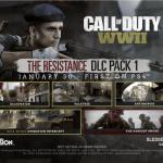 CoD:WW2 第一弾DLCマップパック「RESISTANCE」。MW3のリメイクマップも